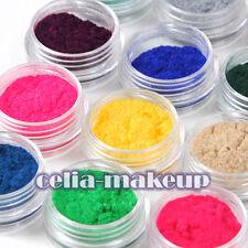12 Color Velvet Flocking Powder For Liquid Manicure Nail Art Acrylic Polish Tips
