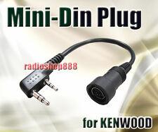 Mini Din Plug for FEIDAXIN WOUXUN Kenwood PUXING 44-K