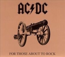 AC/DC For Those About To Rock We Salute You Remaster CD Night of the Long Knives