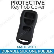 Remote Key Fob Cover Case Shell for 2002 2003 Infiniti QX4 Black