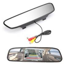 5INCH LCD TFT Car Rear View Mirror Monitor For Backup Reverse Camera DVD VCR HOT