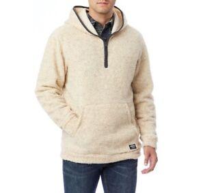 Men's Unionbay Turner Hooded Quarter-Zip Pullover Sizes: S, M - MSRP $56