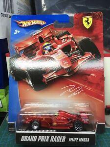 "🔴Hot Wheels ""Grand Prix Racer"" Ferrari F2007 Felipe Massa 'Mint/VHTF"