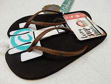 COBIAN WOMENS SANDALS NIAS BOUNCE CHOCOLATE SIZE 8