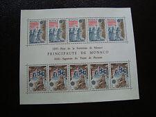 MONACO - timbre yvert et tellier bloc n° 22 n** (Z6)