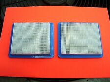 Replacement Air Filter 2 Pack For Briggs & Stratton 491588S 491588 399958 :