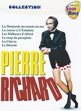 Pierre Richard. DVD Collection 2. Optional English subtitles. 6 Movies