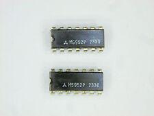 "M5952P  ""Original"" Mitsubishi  14P DIP IC  2  pcs"