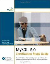 MySql 5.0 Certification Study Guide (Mysq. by DuBois, Paul Mixed media product
