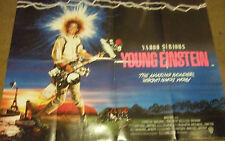 Yahoo Serious  YOUNG EINSTEIN(1989) Original movie poster