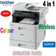 Brother MFC-L8900CDW Colour M/F Wi-Fi Laser Printer + Duplex