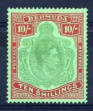 Mint Hinged Bermudian Stamps