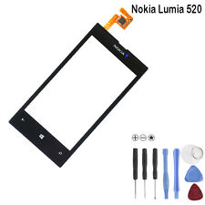 Nokia Lumia 520 N520 Touch Screen Digitizer Display Glass Scheibe Schwarz Black
