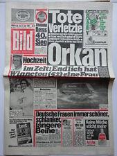 Bild Zeitung 1.7.1981, Pierre Brice, Brigitte Cimaroll, Sascha Bogojevic