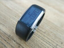 S-ARCK With Fossil PH-1010 Black/Blue Digital Quartz Alarm Watch Sports