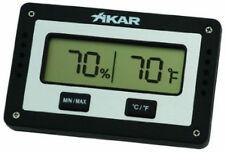 Quality Xikar Rectangular Digital Hygrometer & 50 Cigar Crystal Humidifier