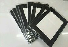 """12 x Professional Picture Framing Mat Boards 16x20"""" with A3 Window Mount Kit"""