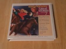 Your Story Hour Great Stories Volume 7 CD Paul Revere Eli Whitney Pony Express a