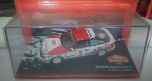 Toyota celica gt4 1991 rallye monte carlo 1/43 ixo