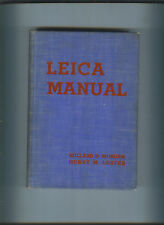 Leica Manual 1938 Miniature Camera Photography 1937 Book William Morgan