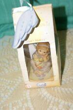 "BNIB Goebel Schutzengel Nina – Marco Guardian Angel Figurine 3"" tall"