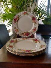More details for 4 old foley james kent staffordshire plates *please see description