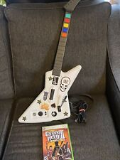 Xbox 360 Red Octane Guitar Hero Xplorer Wired Guitar with Legends Of Rock Game