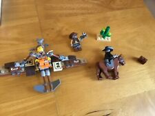 The Lego Movie 70800 Getaway Glider With 3 Minifigures & Horse- COMPLETE