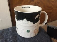 STARBUCKS 2015 City Relief Mug Collector Series BORACAY PUKA BEACH PHILIPPINES