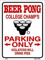 WELCOME TO PARADISE IT/'S ALWAYS HAPPY HOUR EMBOSSED METAL NOVELTY PARKING SIGN