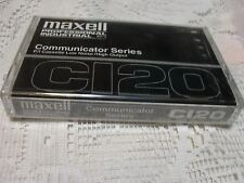 Maxell C120 Communicator Professional Series P/I CASSETTE TAPE New and Sealed