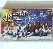 IN AND OUT SEALED 1992 CASSETTE TAPE HARD ROCK MaGaDa RECORDS Glam lp 45 metal