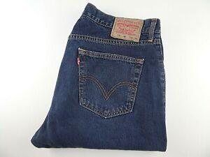 """LEVIS 751 Mens Jeans Blue Denim Straight Leg SIZE W38 L30 Waist 38"""" Leg 30"""" LEVI"""