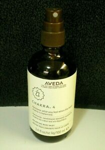 Aveda CHAKRA 4 Balancing Body Mist Spray 3.4 OZ. 95% FULL No Cap/Box OLD FORMULA