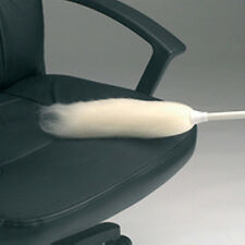 """Contico 24""""  Traditional lambswool flick duster White"""