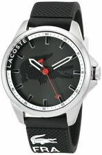 NEW Lacoste Men's Capbreton  Analog Display Japanese Quartz BLACK Watch 2010840