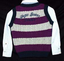 Pepe Jeans DICKINSON Jungen Pullover Pullunder und Hemd 2 in 1 NEU 128 College