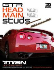 Titan Motorsports H11 Main Stud Kit For Nissan GTR R35 2009+ VR38DETT
