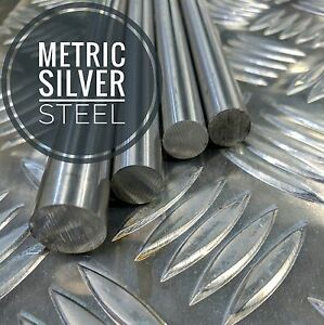 Metric Silver Steel Bar Ground Shafting  1mm To 50mm