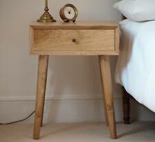 Solid Oak Side table / Bedside / Modern