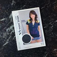 Mikie Hara ☆ Japanese Idol Gravure Worn Costume Card from Japan 原幹恵