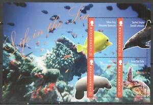 Z0081 MONTSERRAT FISH & MARINE LIFE FAUNA LIFE IN THE SEA 1KB MNH