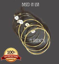 Lyre Harp 10 Metal String Replacement String Set, Knob Set, Tuning KEY New