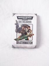 Warhammer 40k Deathwatch Datacards Space Marines OOP-NIB