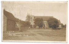 The Church, Brill. - Real Photograph  - Posted 1933