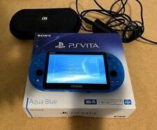 Playstation Vita Wi-Fi Model Aqua Blue (Pch-2000Za23)