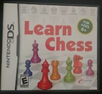 Learn Chess Nintendo DS Complete CIB Tested Very Rare