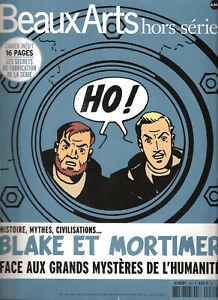 BEAUX ARTS HORS-SERIE - BLAKE ET MORTIMER - JUIN 2015