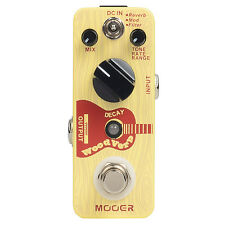 Mooer Wood Verb Reverb Digital Effects Acoustic Guitar Effect Pedal True bypass
