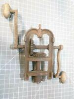 Antique barn beam adjustable drill auger press boring machine For Repair